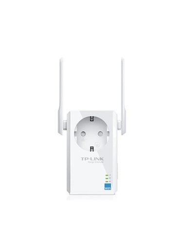 TP-LINK Tl-Wa860Re, 300Mbps, Wireless N Wall Plugged Range Extender / Menzil Genişletici Renkli